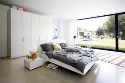 Base Weiss Schlafzimmer
