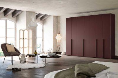 Collect Burgund Schlafzimmer