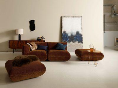 COR Jalis21 Sofa Hocker Stoff Cord