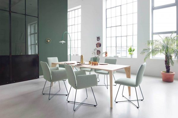 Jalis chair delta table